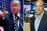 Donald Trump and Jeff Zucker