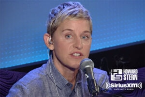 Ellen Degeneres Howard Stern