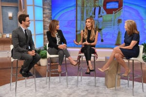 THE MEREDITH VIEIRA SHOW -- Episode AJ007 -- Pictured: (l-r)  -- (Photo by: Theo Wargo/NBC)