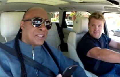 James Corden Stevie Wonder Carpool Karaoke