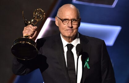 LOS ANGELES, CA - SEPTEMBER 20:  Actor Jeffrey Tambor accepts Outstanding Lead Actor in a Comedy Series for 'Transparent' onstage during the 67th Annual Primetime Emmy Awards at Microsoft Theater on September 20, 2015 in Los Angeles, California.  (Photo by Kevin Winter/Getty Images)