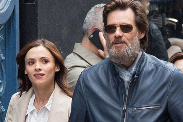 Jim Carrey Cathriona White