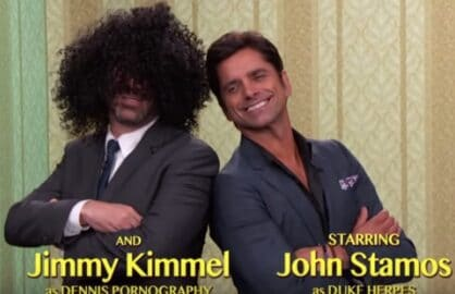 Jimmy Kimmel John Stamos