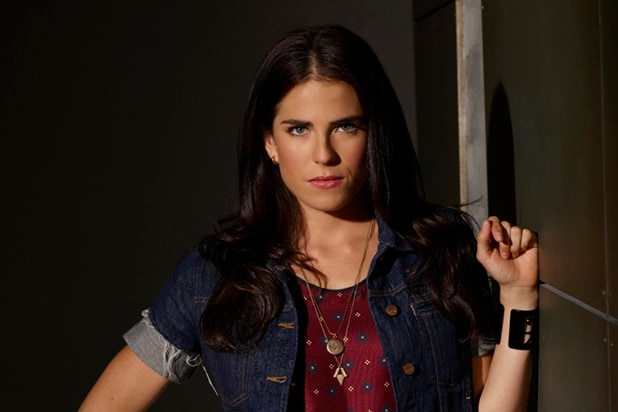"HOW TO GET AWAY WITH MURDER - ABC's ""How to Get Away with Murder"" stars Karla Souza as Laurel Castillo. (ABC/Bob D'Amico)"