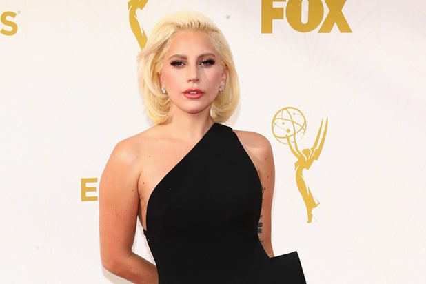 Lady Gaga Gets Rave Reviews From 'AHS: Hotel' Co-Stars on Emmys Red ... Lady Gaga