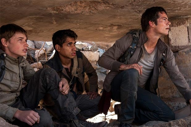 Maze Runner The Scorch Trials Review Dylan O Brien Returns In