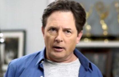 Michael J. Fox Back in Time