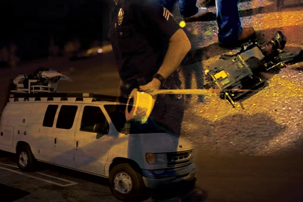 tv News Photographer tv News Crews Dangers