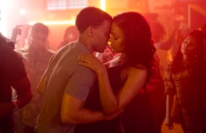 Carter (Michael Ealy) takes Leah (Sanaa Lathan) on a date to a reggae club in Screen Gems' THE PERFECT GUY.