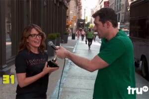 Tina Fey Billy on the Street