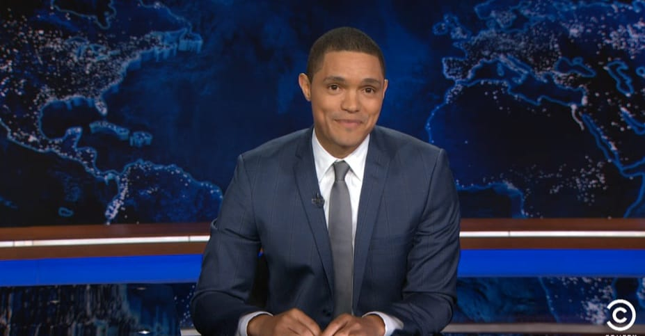Trevor Noah Rips Into Hillary Clinton, Ben Carson for Pandering to Hollywood Stars