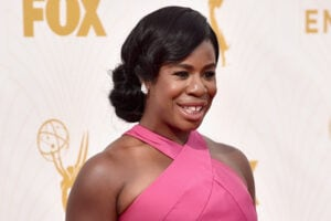 LOS ANGELES, CA - SEPTEMBER 20:  Actress Uzo Aduba attends the 67th Emmy Awards at Microsoft Theater on September 20, 2015 in Los Angeles, California. 25720_001  (Photo by Alberto E. Rodriguez/Getty Images for TNT LA)