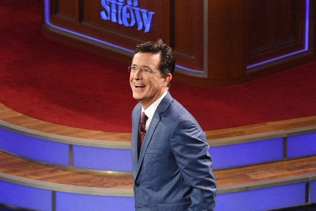 Stephen Colberts Anniversary 3 Months Of Late Show Ratings