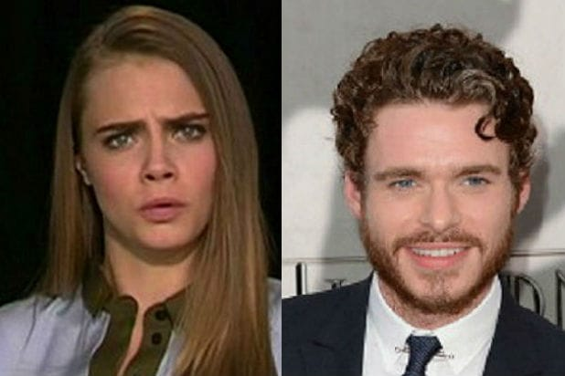 Cara Delevingne Rips Richard Madden After Actor Criticizes ...