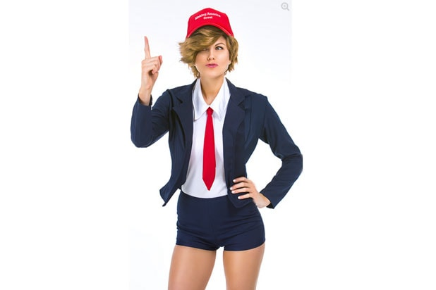 Donald Trump 'Sexy' Halloween Costume Threatens to Make America ...