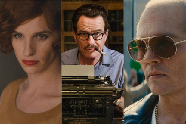 The Danish Girl, Trumbo and Black Mass