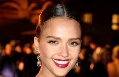 Jessica Alba attends the Tory Burch Paris Flagship store opening after party at on July 7, 2015 in Paris, France.