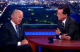 Joe Biden Stephen Colbert