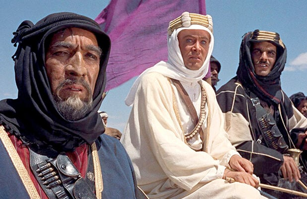 Lawrence of Arabia' Named Top Cinematography Milestone of