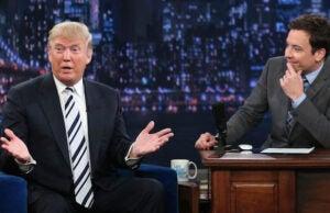 Trump and Fallon