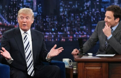 Trump and Fallon