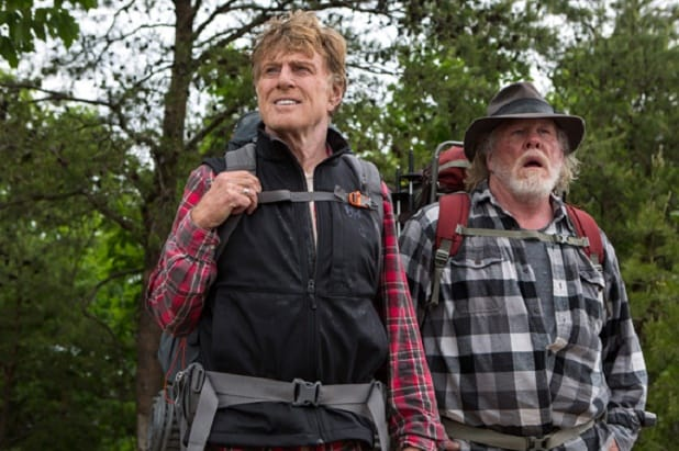 A Walk in the Woods Robert Redford Nick Nolte