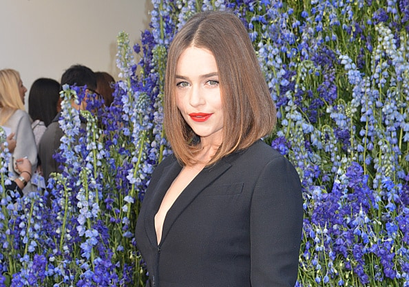 PARIS, FRANCE - OCTOBER 02:  Emilia Clarke  attends the Christian Dior show as part of the Paris Fashion Week Womenswear Spring/Summer 2016 on October 2, 2015 in Paris, France.  (Photo by Foc Kan/WireImage)