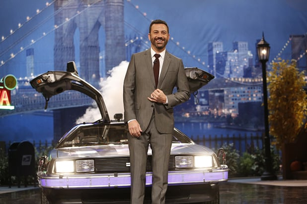 Back to the Future Jimmy Kimmel (1)
