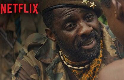 """Idris Elba in Netflix's """"Beasts of No Nation"""""""