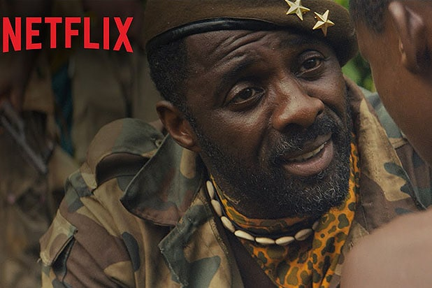 "Idris Elba in Netflix's ""Beasts of No Nation"""