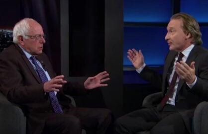 Bernie Sanders Bill Maher