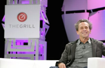 BEVERLY HILLS, CA - OCTOBER 05:  Producer Brian Grazer speaks onstage during TheWrap's 6th Annual TheGrill at Montage Beverly Hills on October 5, 2015 in Beverly Hills, California.  (Photo by Alison Buck/Getty Images for TheWrap) *** Local Caption *** Brian Grazer