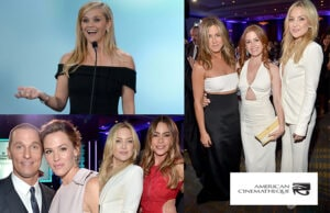 """Sofia Vergara calls her """"My Little Pony"""", but the American Cinematheque calls her this year's honoree. The tribute filled the Century Plaza on Friday, October 30. (Getty Images)"""