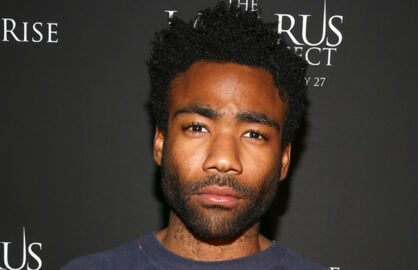 "HOLLYWOOD, CA - FEBRUARY 17:  Actor Donald Glover attends Relativity Media's special screening of ""The Lazarus Effect"" at Hollywood Forever on February 17, 2015 in Hollywood, California.  (Photo by Rich Polk/Getty Images for Relativity Media)"