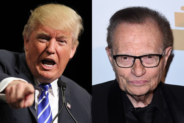 Has anyone interviewed Larry King? If yes, can someone please name a few?