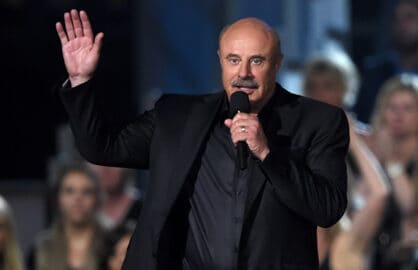 ARLINGTON, TX - APRIL 19:  TV personality Phil McGraw speaks onstage during the 50th Academy of Country Music Awards at AT&T Stadium on April 19, 2015 in Arlington, Texas.  (Photo by Ethan Miller/Getty Images for dcp)