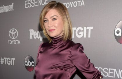 WEST HOLLYWOOD, CA - SEPTEMBER 26:  Actress Ellen Pompeo attends the Celebration of ABC's TGIT Line-up presented by Toyota and co-hosted by ABC and Time Inc.'s Entertainment Weekly, Essence and People at Gracias Madre on September 26, 2015 in West Hollywood, California.  (Photo by Jason Kempin/Getty Images for Entertainment Weekly)