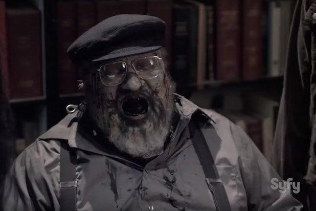 George R R Martin Makes Zombie Cameo On Syfy S Z Nation