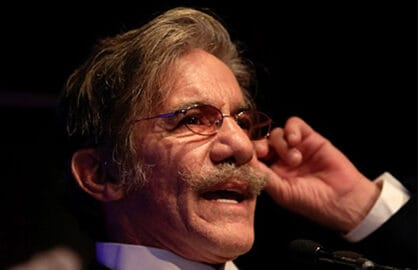 NEW YORK, NY - NOVEMBER 17: Journalist Geraldo Rivera speaks on stage during the 2014 Wounded Warrior Project Benefit at The Edison Ballroom on November 17, 2014 in New York City. (Photo by Brent N. Clarke/Getty Images)