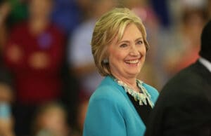 Hillary Clinton Attends Grassroots Campaign Event In Florida