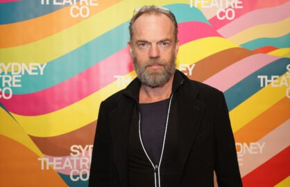 SYDNEY, AUSTRALIA - AUGUST 08:  Hugo Weaving arrives at the opening night of 'The Present' at Sydney Theatre Company on August 8, 2015 in Sydney, Australia.  (Photo by Jennifer Polixenni Brankin/Getty Images)