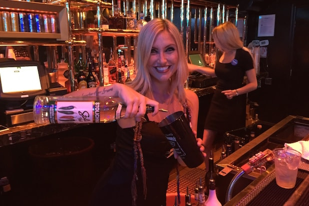 Sarah, the bartender