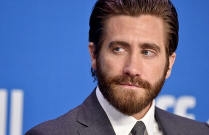 "TORONTO, ON - SEPTEMBER 11:  Actor Jake Gyllenhaal speaks onstage during the ""Demolition"" press conference at the 2015 Toronto International Film Festival at TIFF Bell Lightbox on September 11, 2015 in Toronto, Canada.  (Photo by Kevin Winter/Getty Images)"