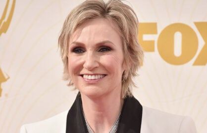 LOS ANGELES, CA - SEPTEMBER 20:   Actress Jane Lynch attends the 67th Emmy Awards at Microsoft Theater on September 20, 2015 in Los Angeles, California. 25720_001  (Photo by Alberto E. Rodriguez/Getty Images for TNT LA)