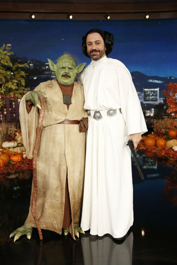 Jimmy Kimmel Star Wars Halloween