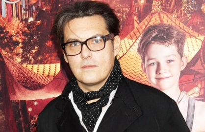 "NEW YORK, NY - OCTOBER 04:  Director Joe Wright attends the ""Pan"" New York Premiere - Outside Arrivals at Ziegfeld Theater on October 4, 2015 in New York City.  (Photo by Laura Cavanaugh/Getty Images)"