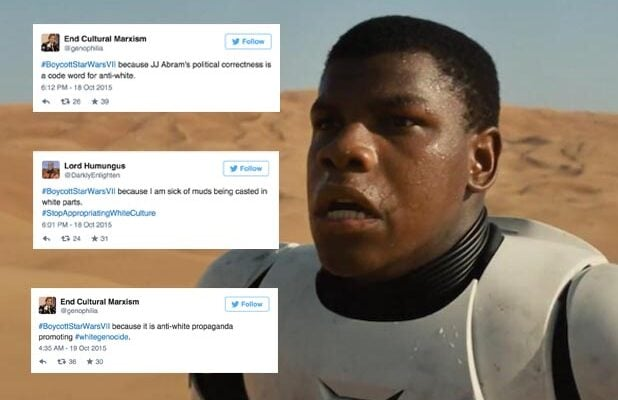 Twitter Trolls Start #BoycottStarWarsVII Over Black