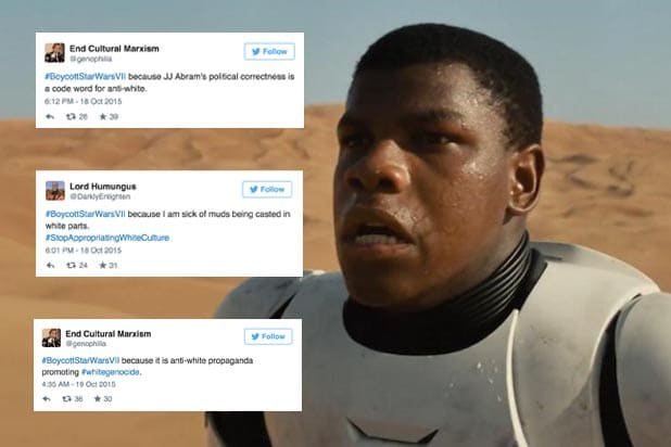 John Boyega Racist Tweets star Wars