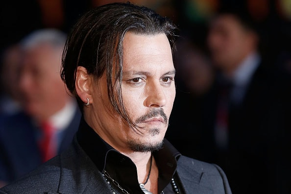 Johnny Depp's Head Makes 'Walking Dead' Cameo (Photo) Johnny Depp