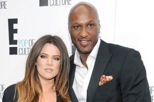 NEW YORK, NY - APRIL 30: Khloe Kardashian Odom and Lamar Odom of 'Keeping Up With The Kardashians' attend E! 2012 Upfront at NYC Gotham Hall on April 30, 2012 in New York City. (Photo by Dimitrios Kambouris/E/NBCU Photo Bank via Getty Images for E!)